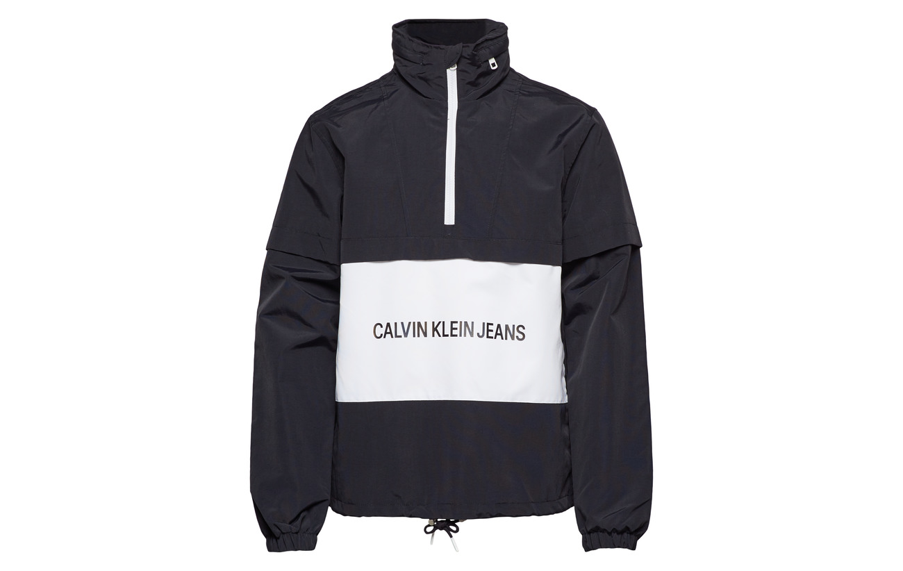 Institutional 100 Logo Jeans white P Calvin Klein Ck Polyamide Black RTpwxx