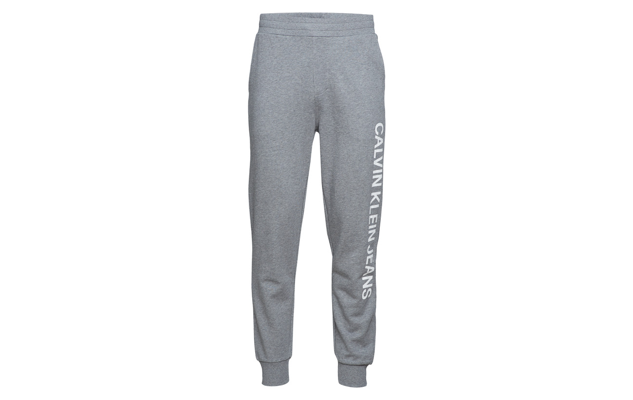 Grey Institutional Heather Jeans Side Calvin Klein L agPqPS