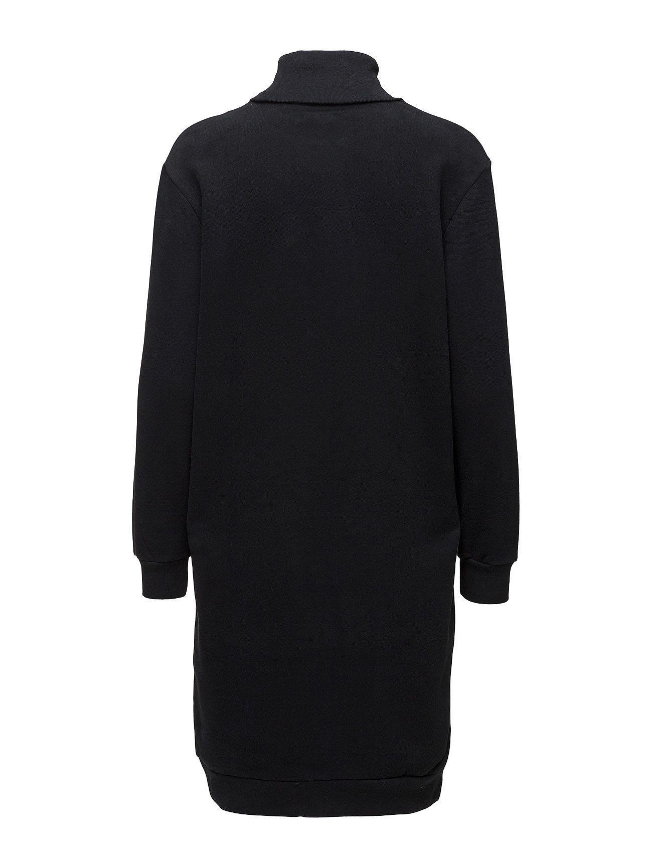 CALVIN KLEIN Kleider | Doll True Icon Rn Hwk L/S Kleid Knielang Schwarz CALVIN KLEIN JEANS