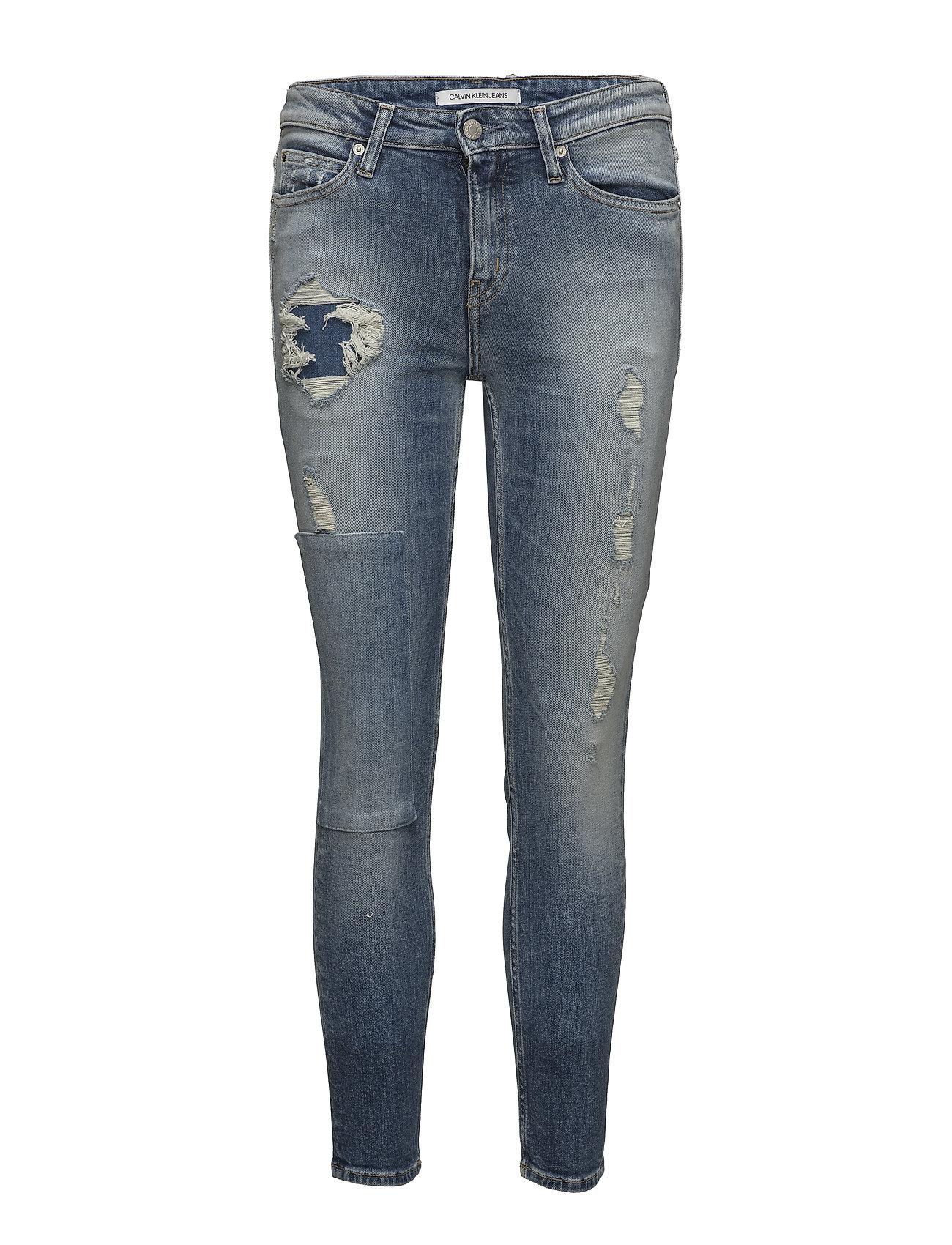 Calvin Klein Jeans CKJ 011: Mid Rise Sk - FORSTER BLUE