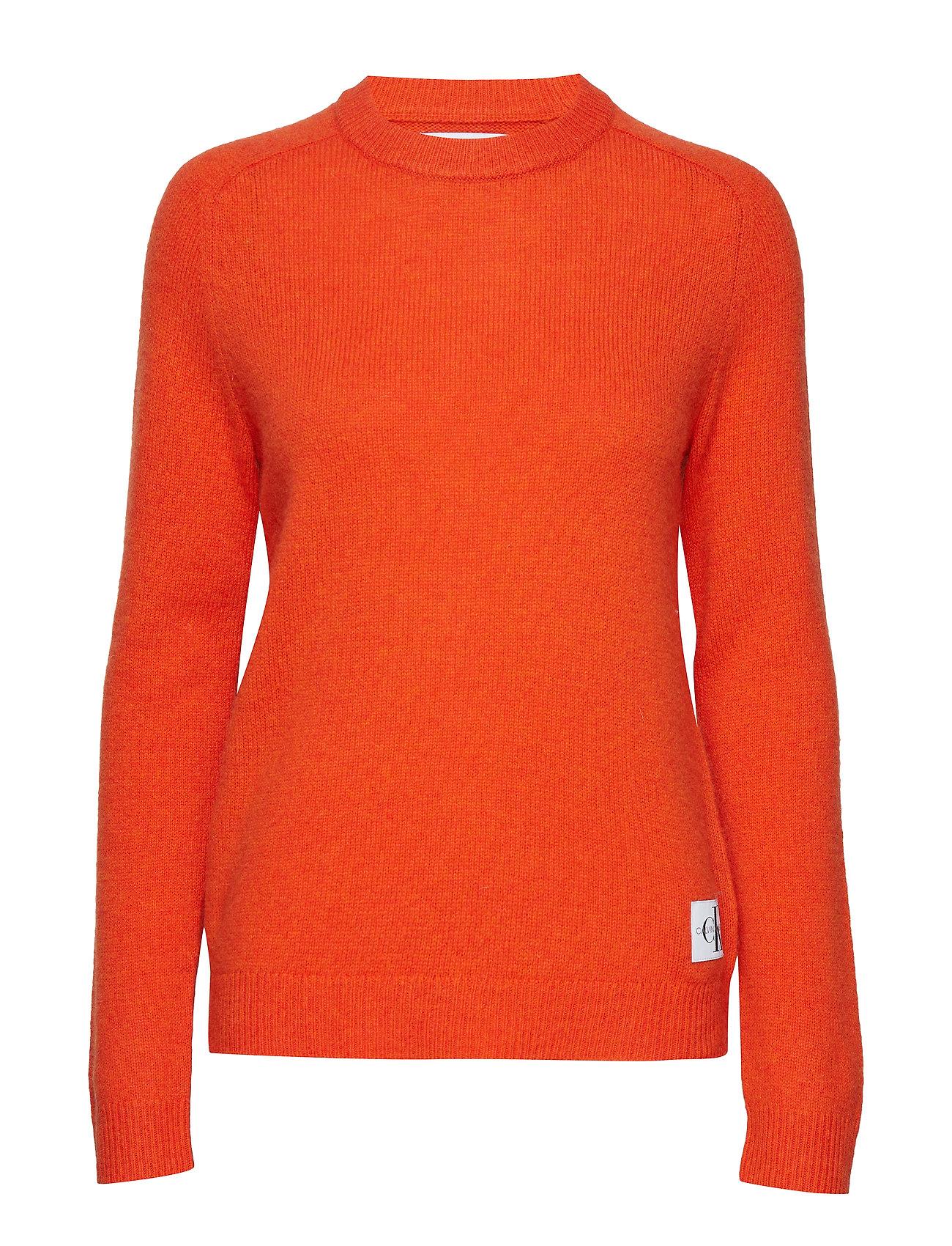 RedCalvin Jeans Wool Crew Klein Npumpkin Shetland wPX8kOn0