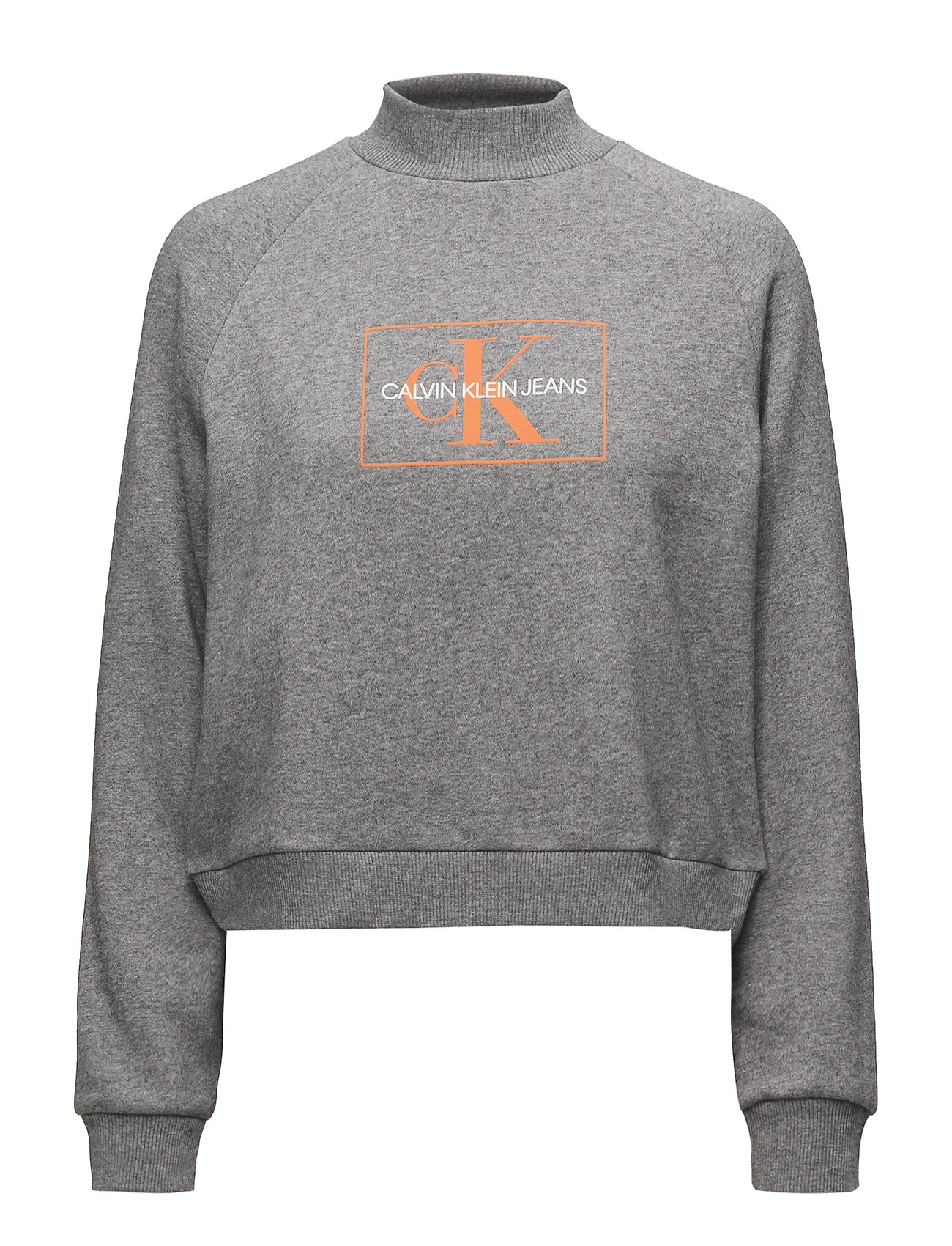 Grey Outline Klein Relmid Monogram Jeans HeatherCalvin oWdrxBeQC