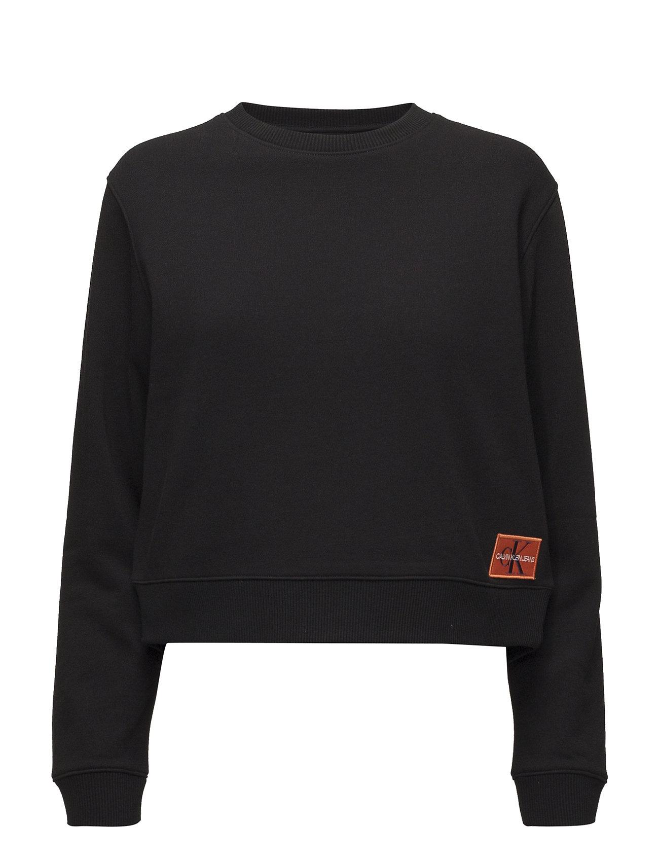 Calvin Klein Jeans MONOGRAM BADGE RELAX - CK BLACK / PUMPKIN RED