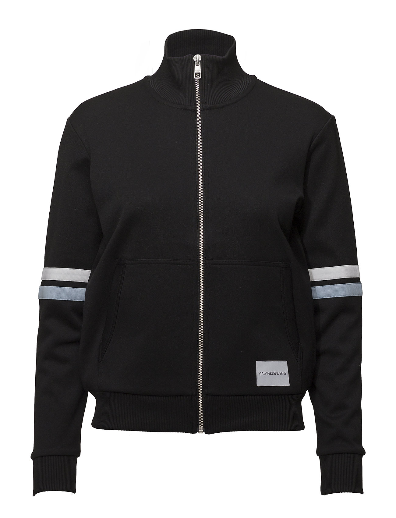 Calvin Klein Jeans ZIP-UP TRACK JACKET - CK BLACK