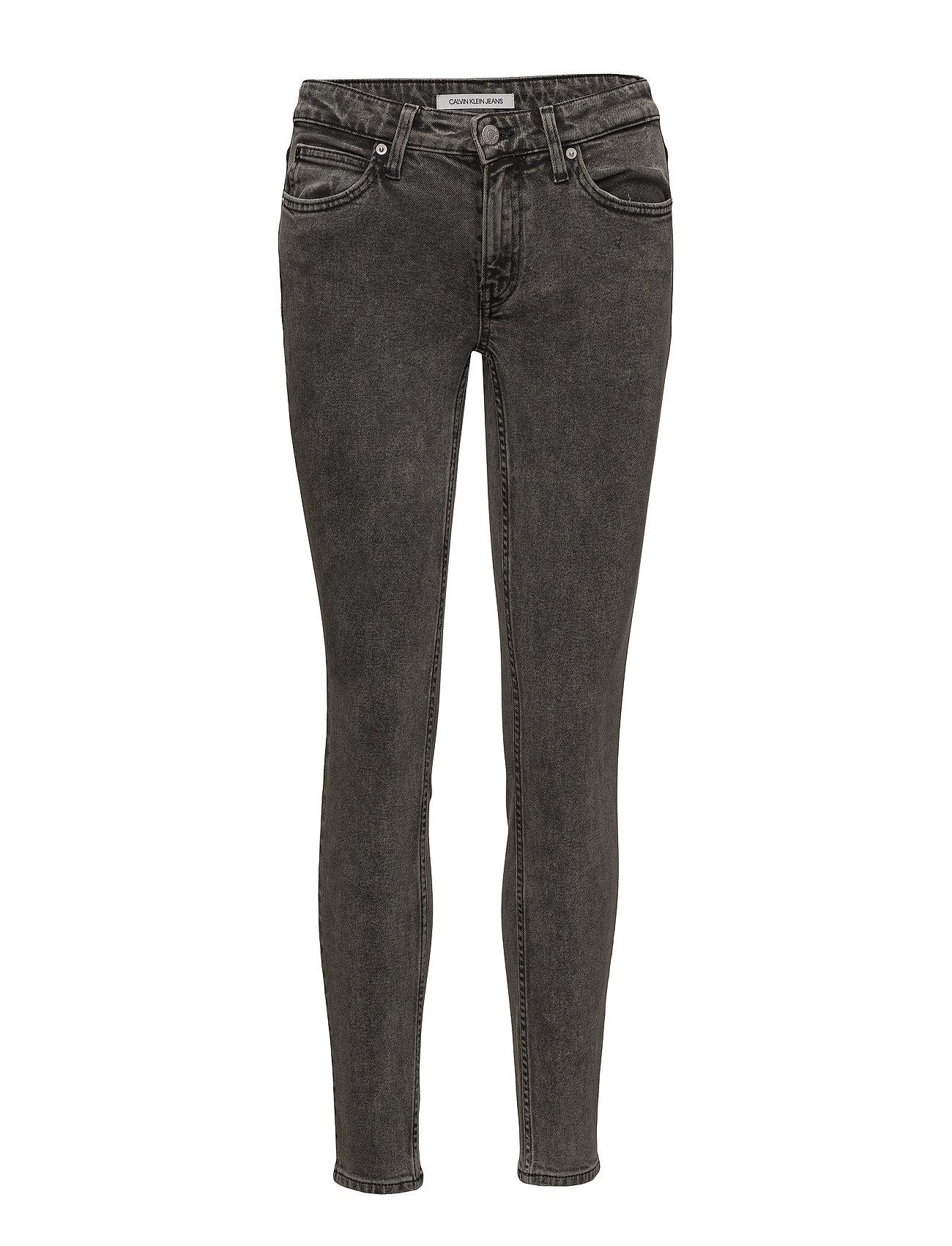 Calvin Klein Jeans CKJ 011: Mid Rise Sk - VAUCLUSE BLACK