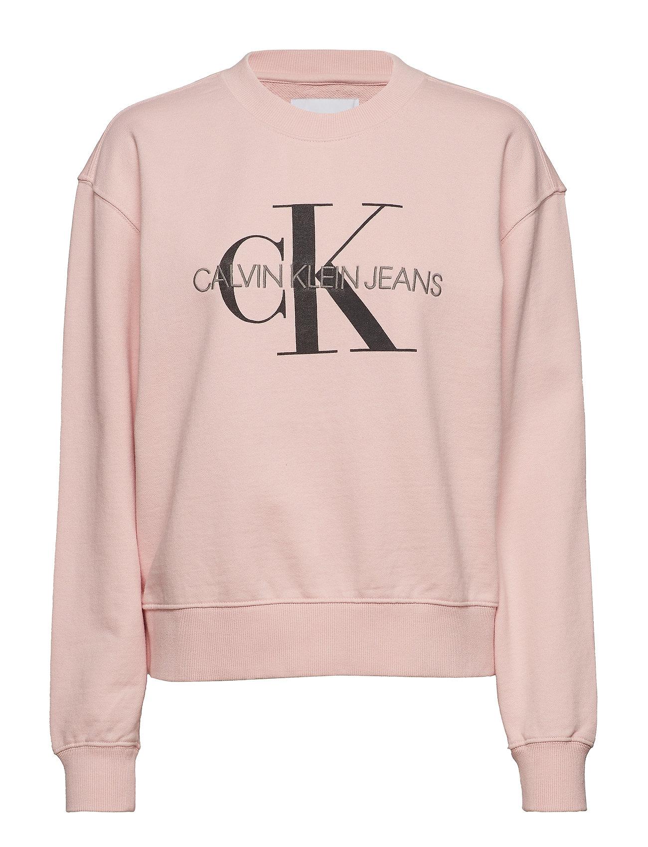 Calvin Klein Jeans MONOGRAM WASHED CREW NECK