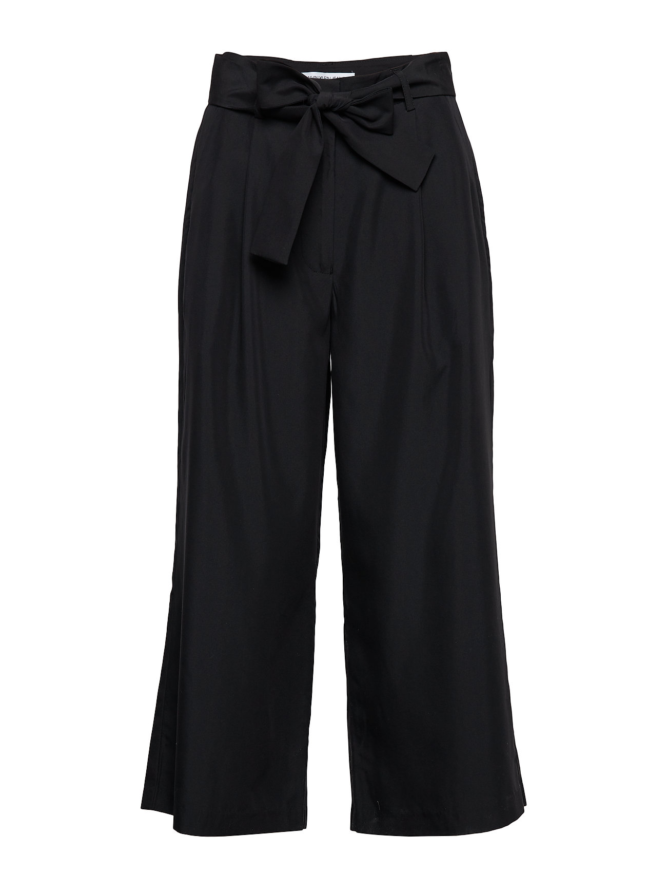 Calvin Klein Jeans DRAPEY TENCEL STRAIG - CK BLACK