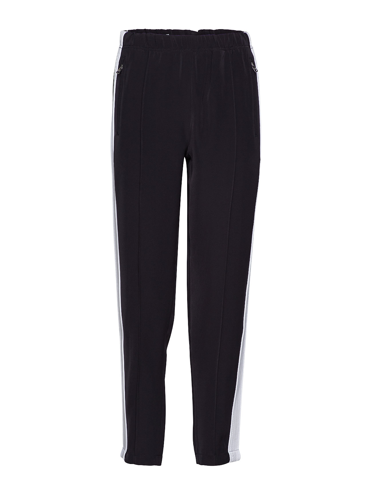 Calvin Klein Jeans TAPERED DRAPEY TRACK - CK BLACK/WHITE