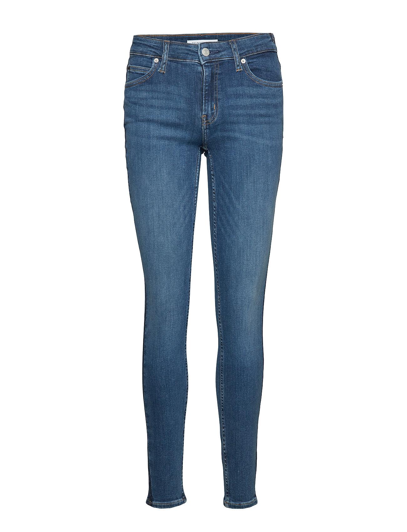 Calvin Klein Jeans CKJ 011 MID RISE SKI - TARONGA BLUE SIDE STRIPE