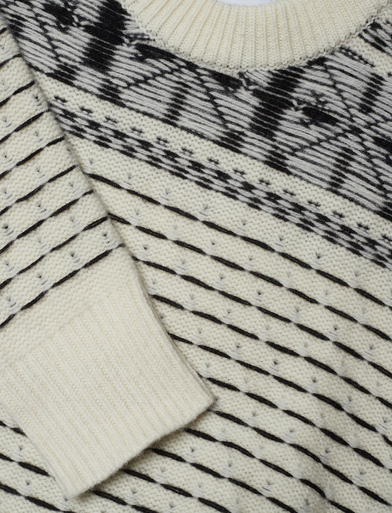 Calvin Klein Jeans Fairisle Fashion Swe - Stickat
