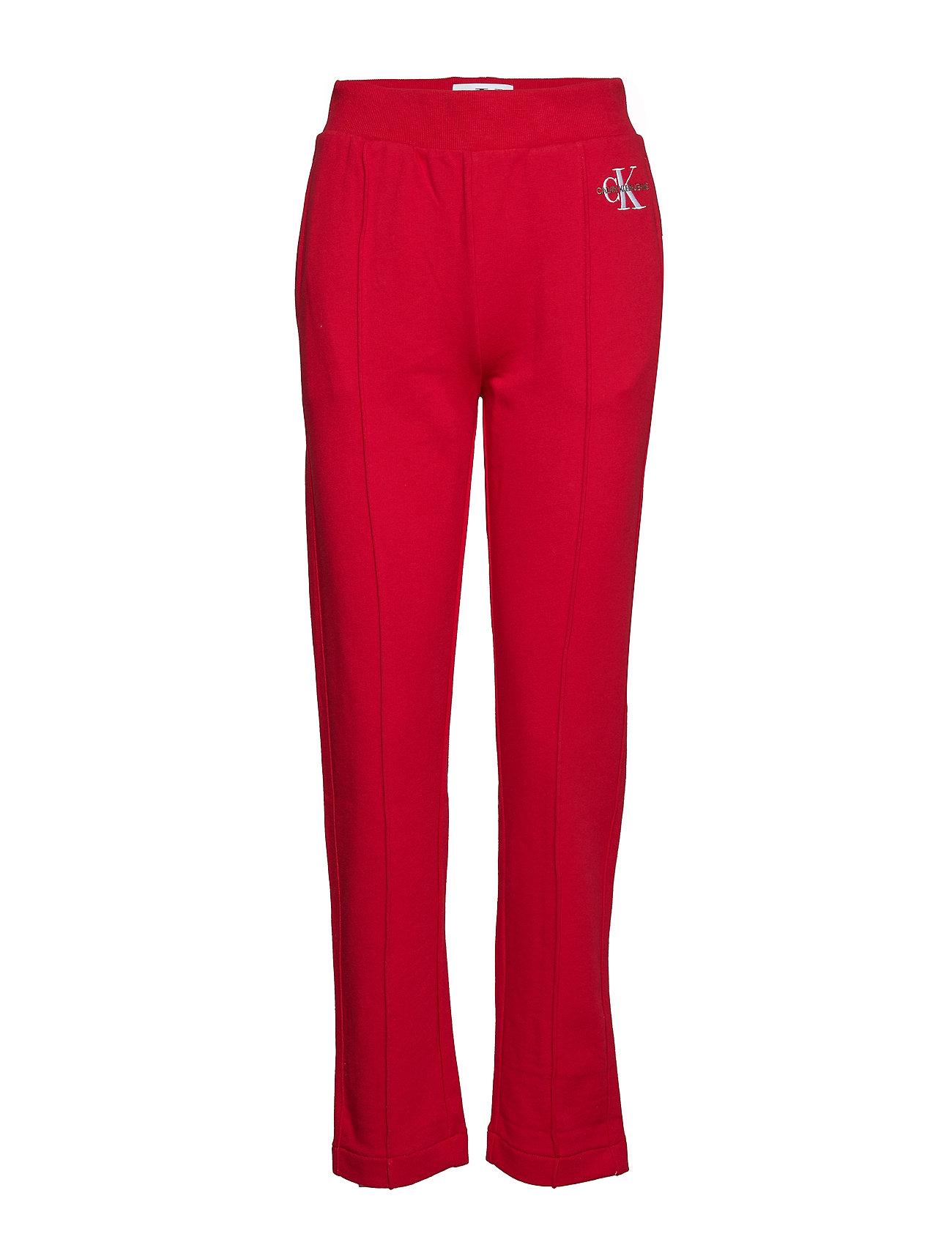 Calvin Klein Jeans MONOGRAM EMBROIDERY, - BARBADOS CHERRY