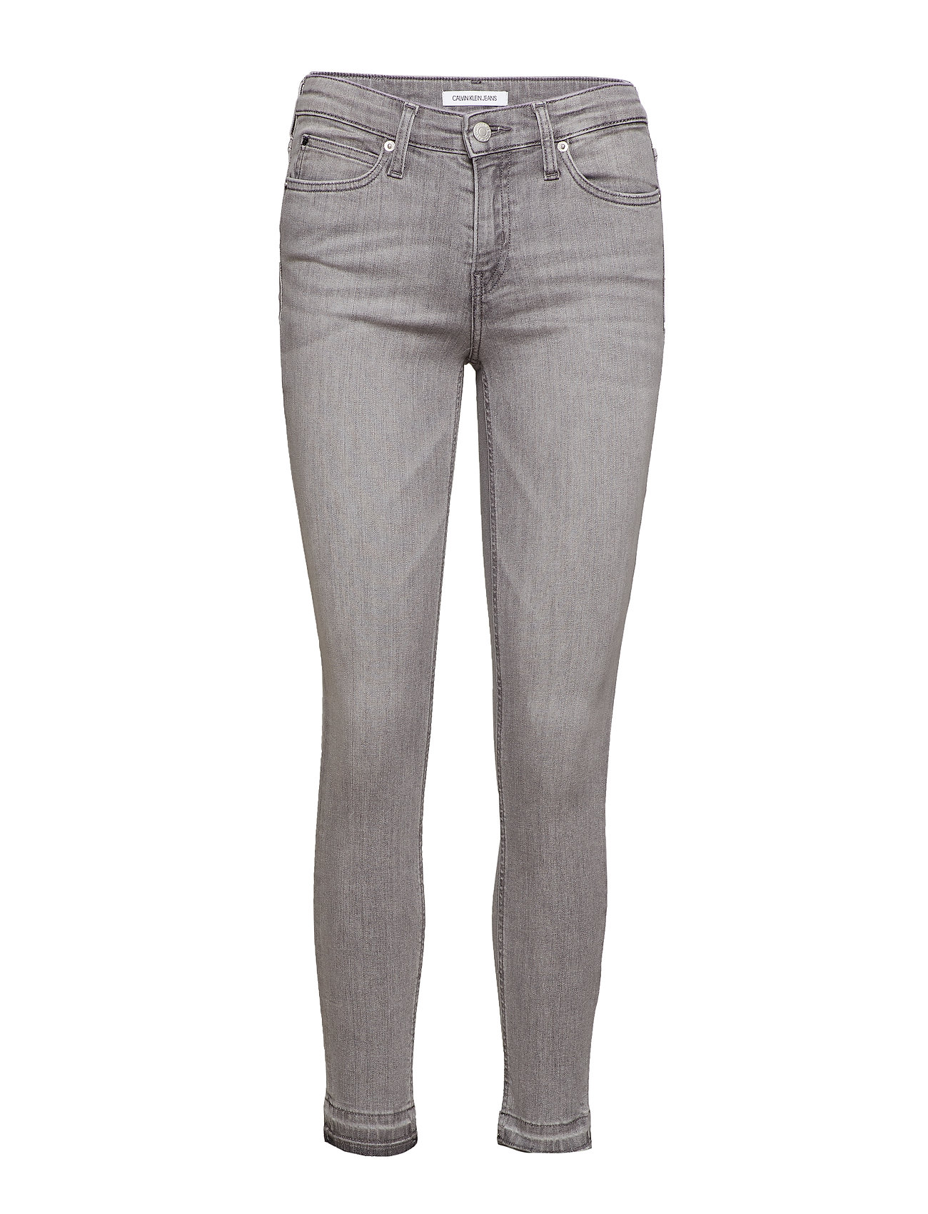 Calvin Klein Jeans CKJ 011 MID RISE SKI - ANGOLA GREY RELEASED HEM