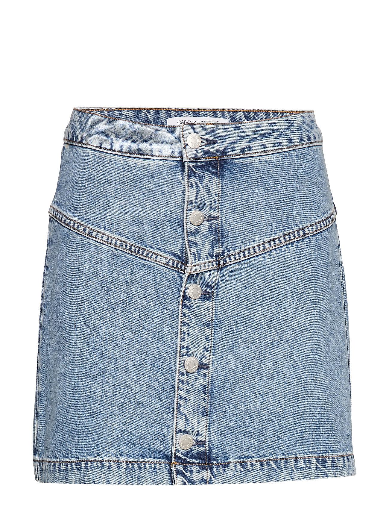 Calvin Klein Jeans BUTTON FRONT YOKE SK - AA016 LIGHT BLUE