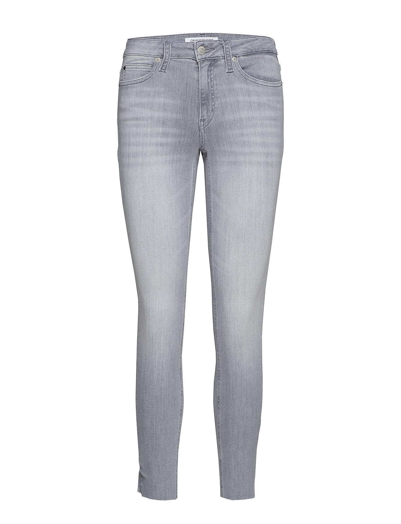 Calvin Klein Jeans CKJ 011 MID RISE SKI - JULIE GREY SPLIT HEM