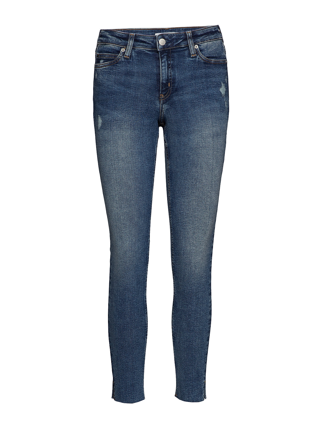Calvin Klein Jeans CKJ 001 SUPER SKINNY - HERMITAGE SPLIT HEM