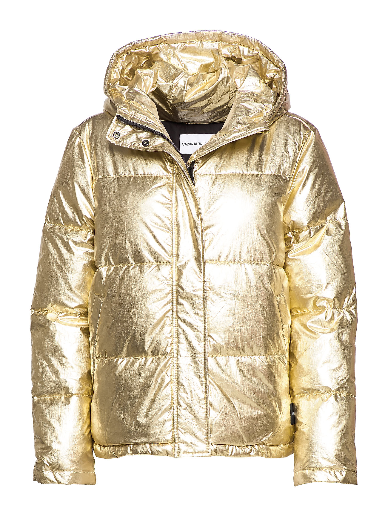 Calvin Klein Jeans MW GOLD PUFFER JACKE - GOLD