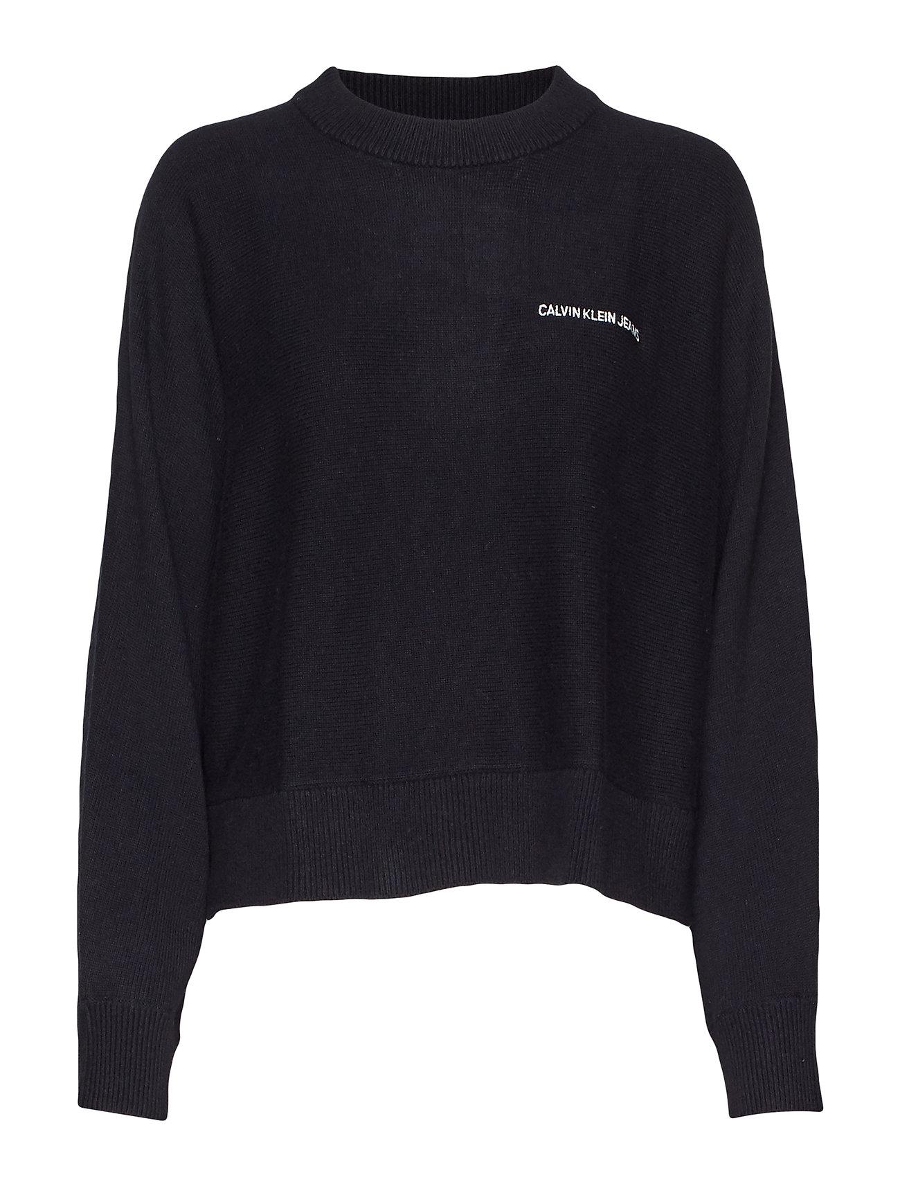 Calvin Klein Jeans CALVIN BACK LOGO SWE - CK BLACK