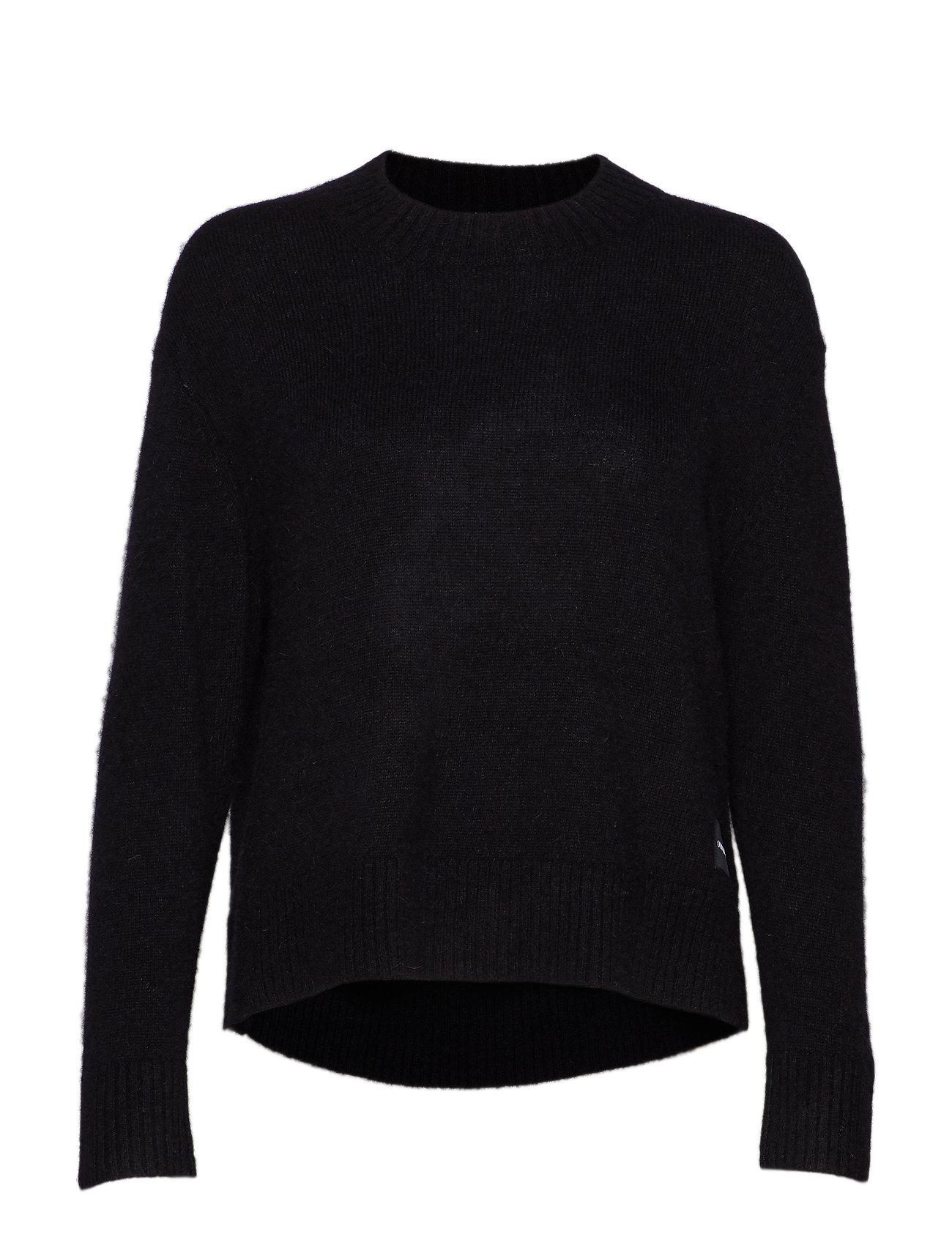 Calvin Klein Jeans ALPACA BLEND SWEATER - CK BLACK