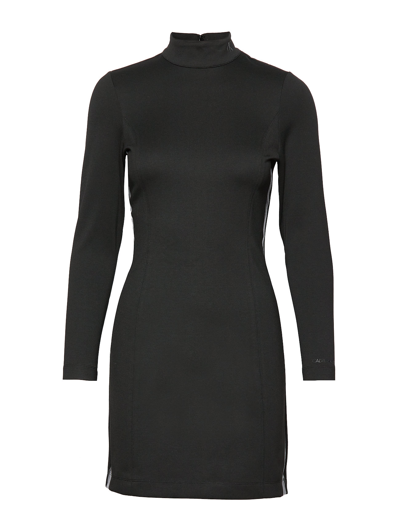 Calvin Klein Jeans COATED MILANO DRESS - CK BLACK