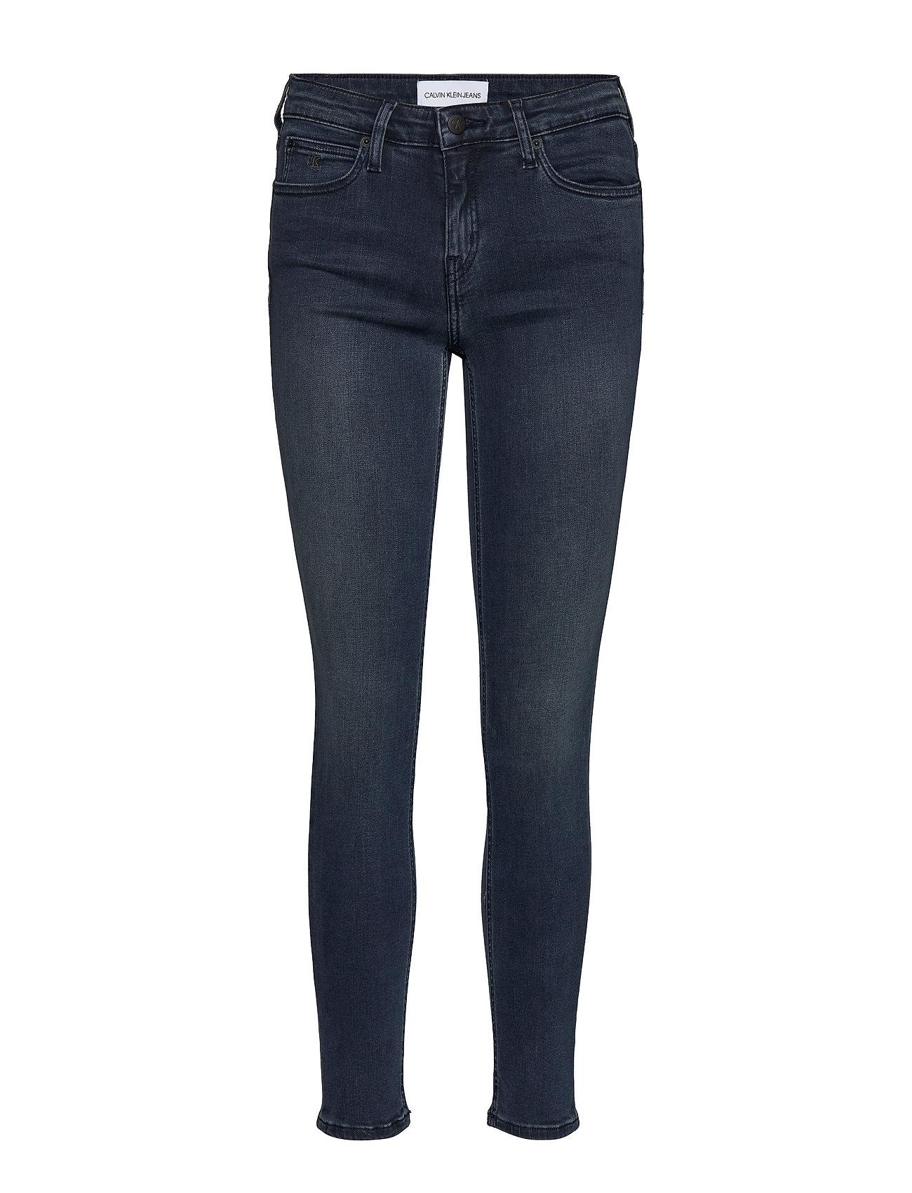 Calvin Klein Jeans CKJ 011 MID RISE SKINNY - CA033 BLUE BLACK