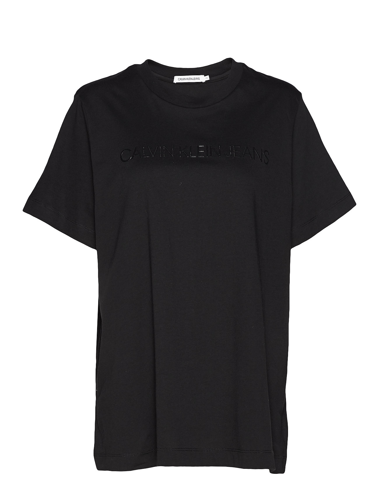 Calvin Klein Jeans PLUS INSTITUTIONAL LOGO TEE - CK BLACK
