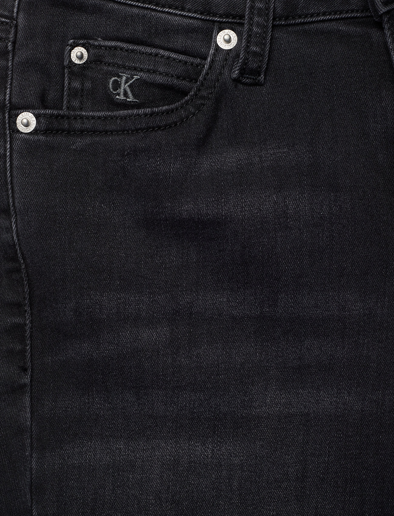 Ckj 011 Mid Rise Ski (Zz002 Washed Black) (1100 kr) - Calvin Klein Jeans