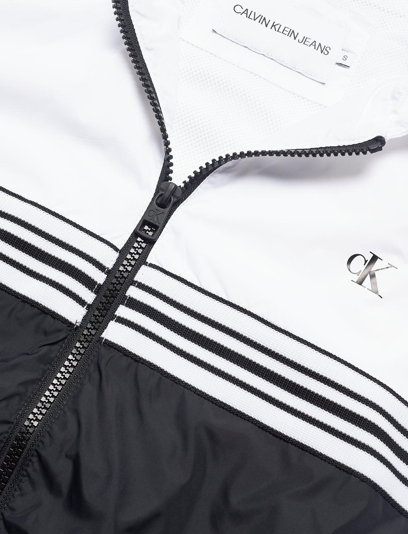 Stripe Tape Hooded Windbreaker (Ck Black) (1600 kr) - Calvin Klein Jeans