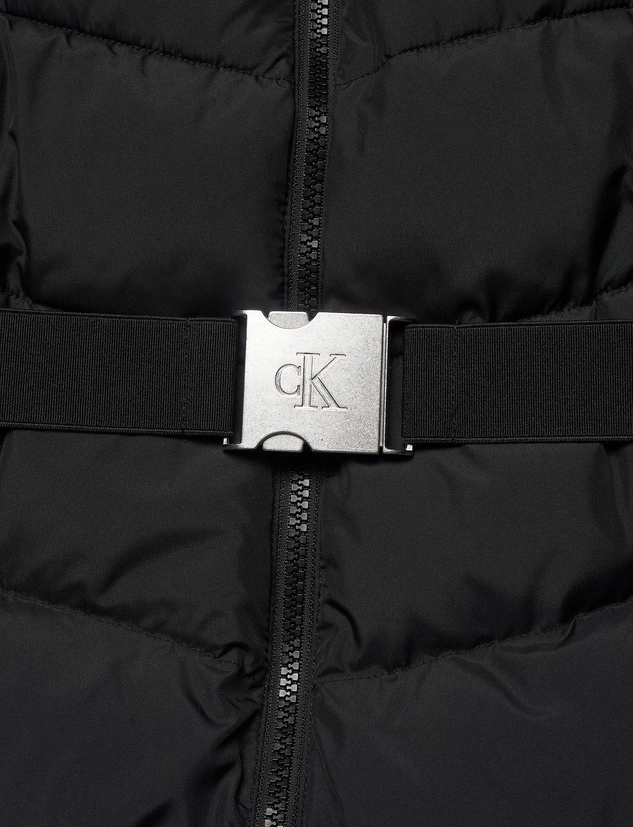 Lw Belted Puffer Jacket (Ck Black) (2200 kr) - Calvin Klein Jeans