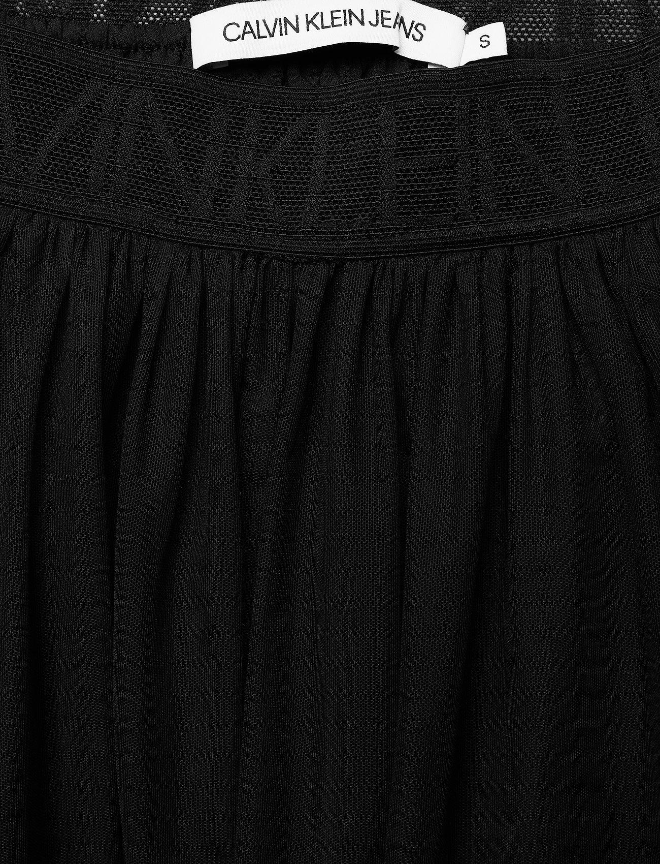 Double Layer Mesh Skirt (Ck Black) (1100 kr) - Calvin Klein Jeans