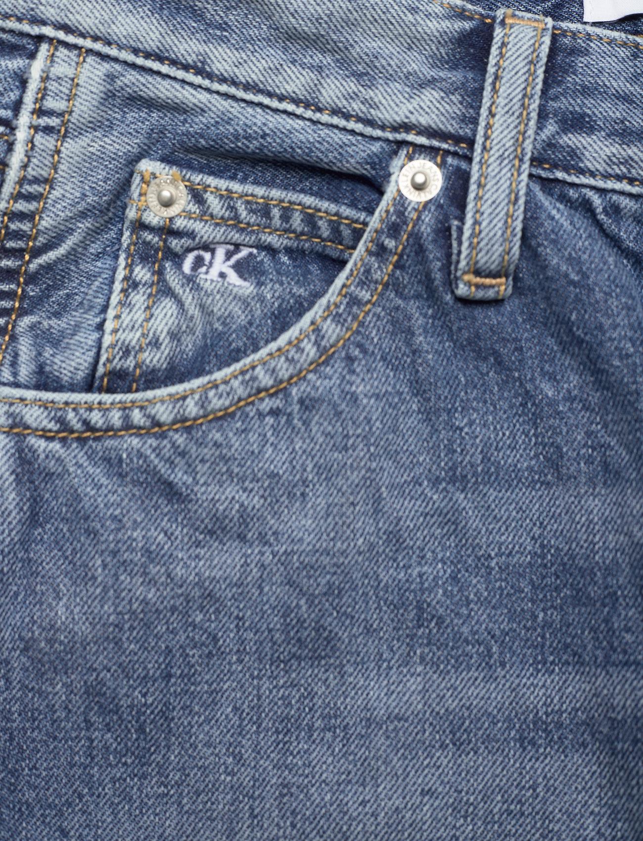 Calvin Klein Jeans - CKJ 030 HIGH RISE STRAIGHT ANKLE - straight regular - bb047 - icn light blue utility - 2
