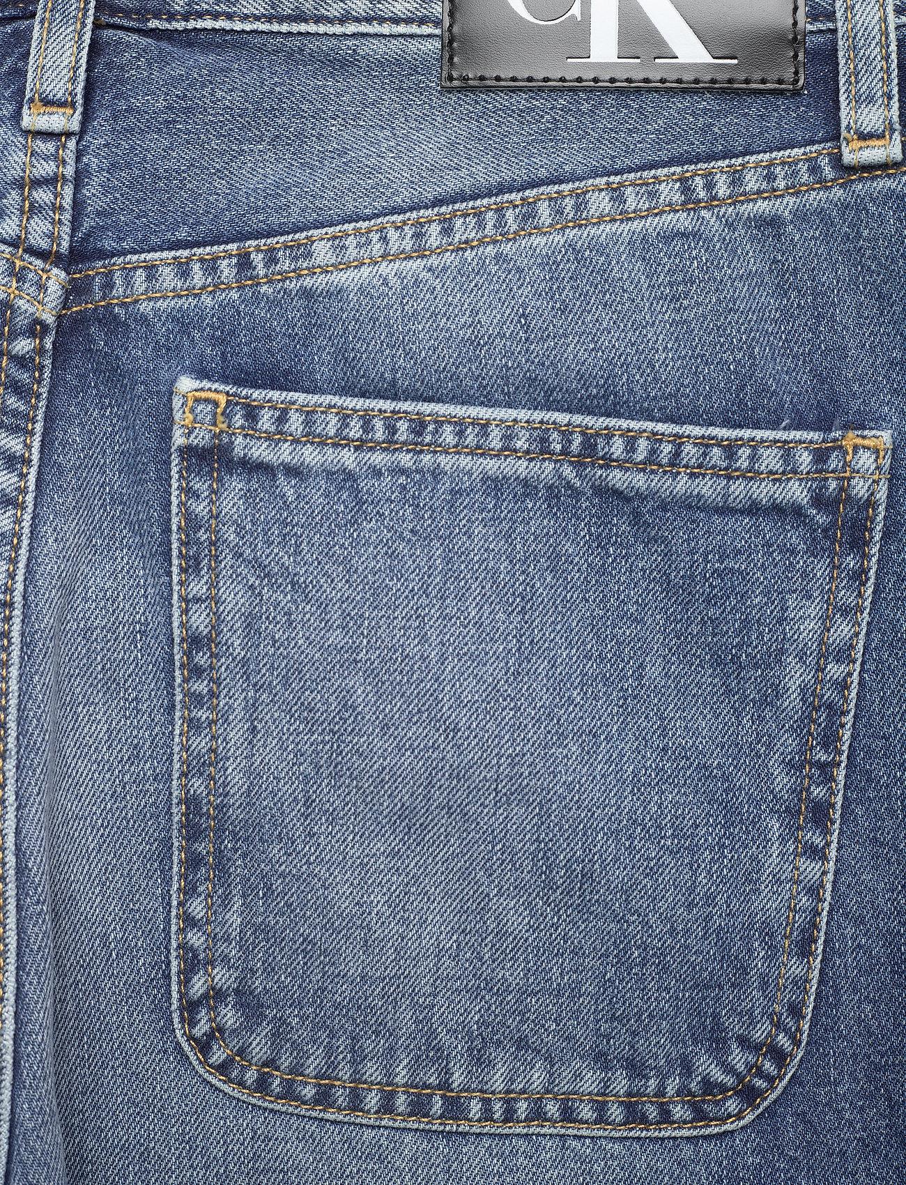 Calvin Klein Jeans - CKJ 030 HIGH RISE STRAIGHT ANKLE - straight regular - bb047 - icn light blue utility - 4