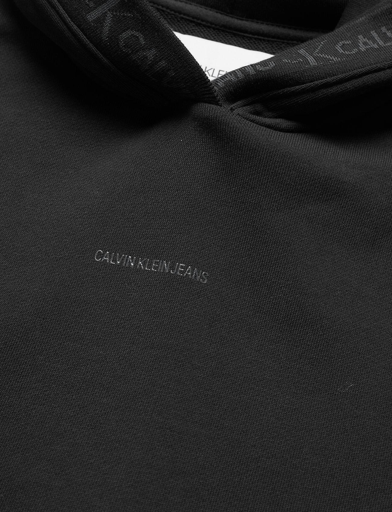 Calvin Klein Jeans - LOGO TRIM HOODIE - sweatshirts & hoodies - ck black - 2