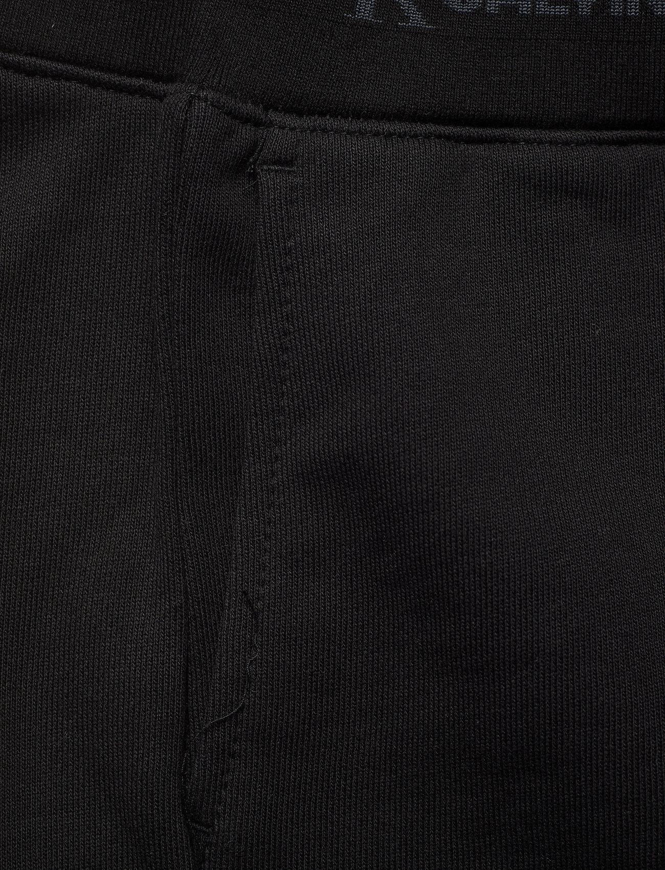 Calvin Klein Jeans - LOGO TRIM KNIT SHORT - casual shorts - ck black - 2