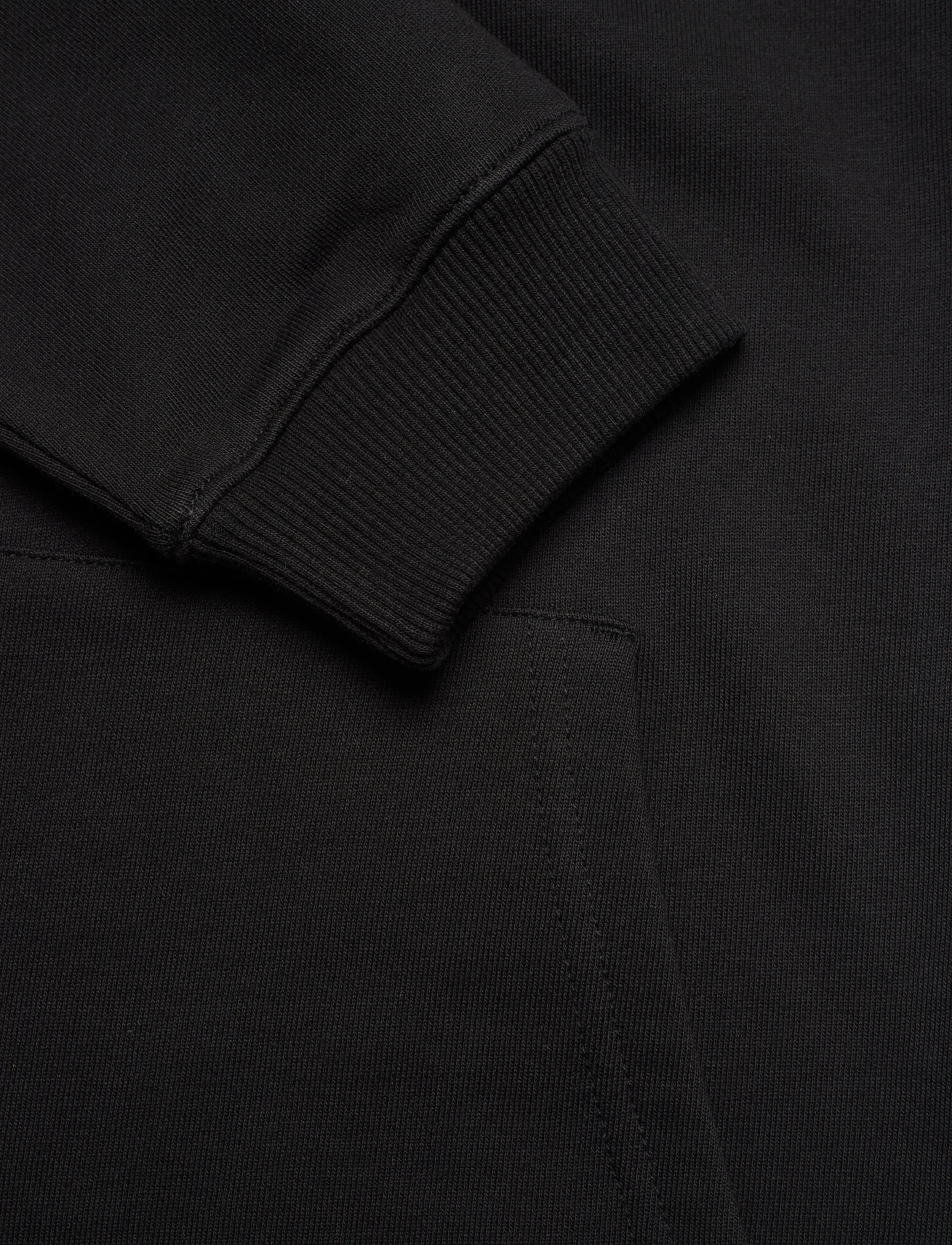 Calvin Klein Jeans - LOGO TRIM HOODIE DRESS - summer dresses - ck black - 5