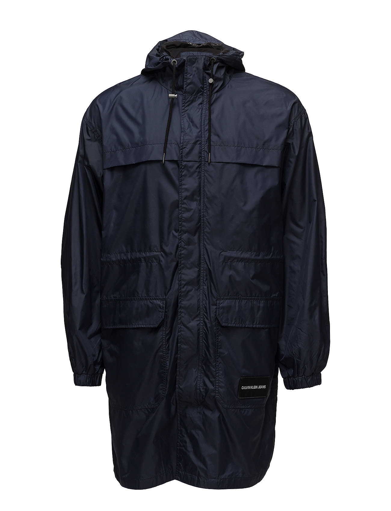 Hooded SkyCalvin Parkanight Klein Length Nylon Mid Jeans oxWQrCdBeE