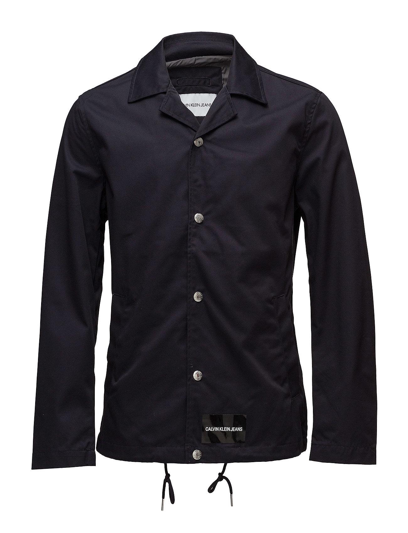 Calvin Klein Jeans INSTITUTIONAL LOGO COACH JACKET - NIGHT SKY