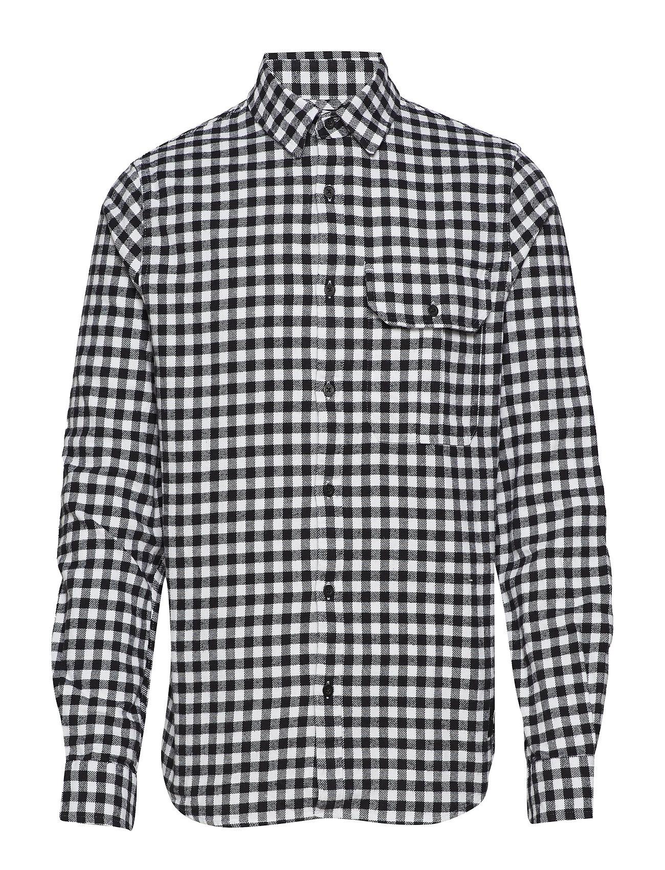 Calvin Klein Jeans GINGHAM CHECK REG FI - BRIGHT WHITE