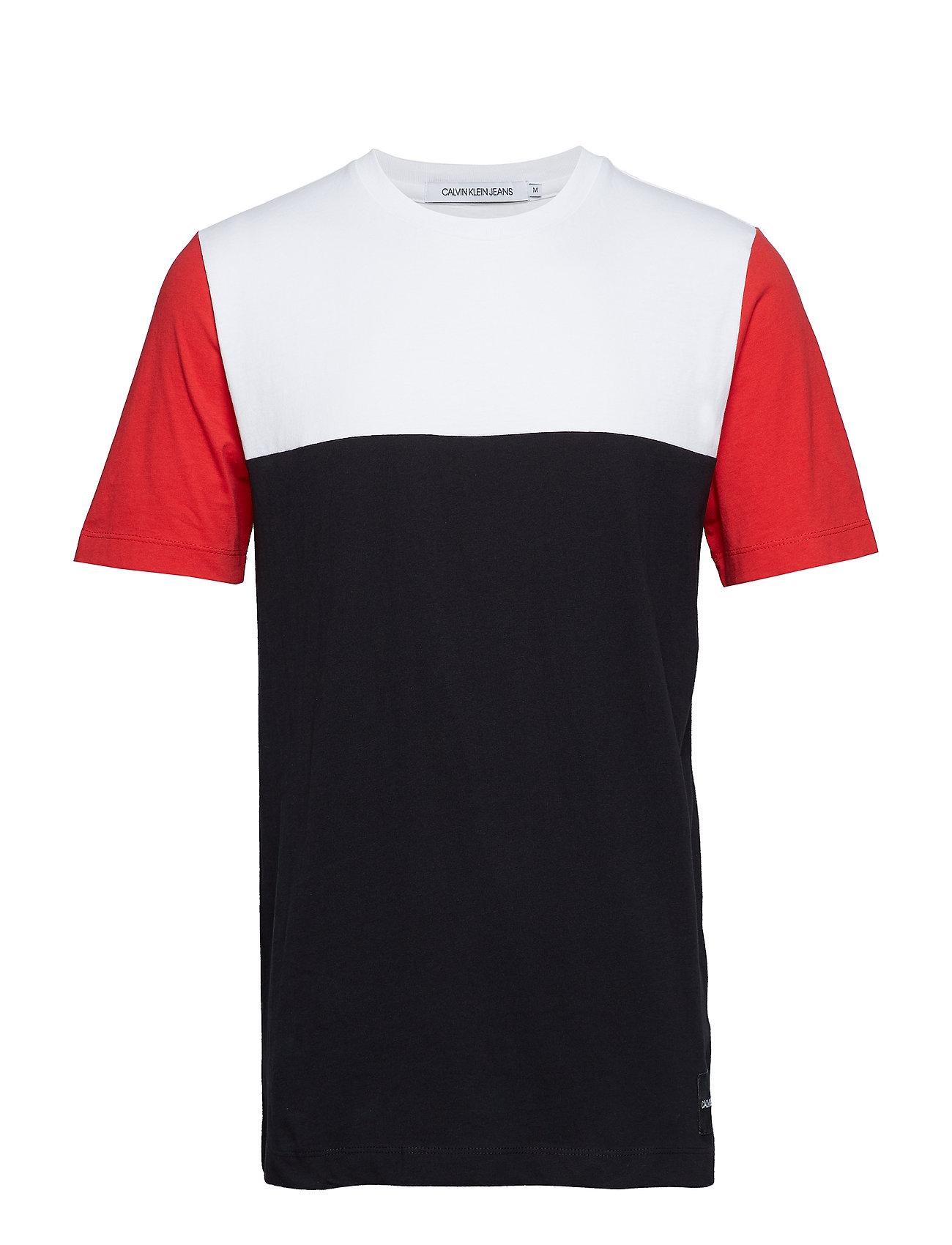 Reg redCalvin Jeans Color White Klein Fck Black bright Blocking Fc35uKJTl1