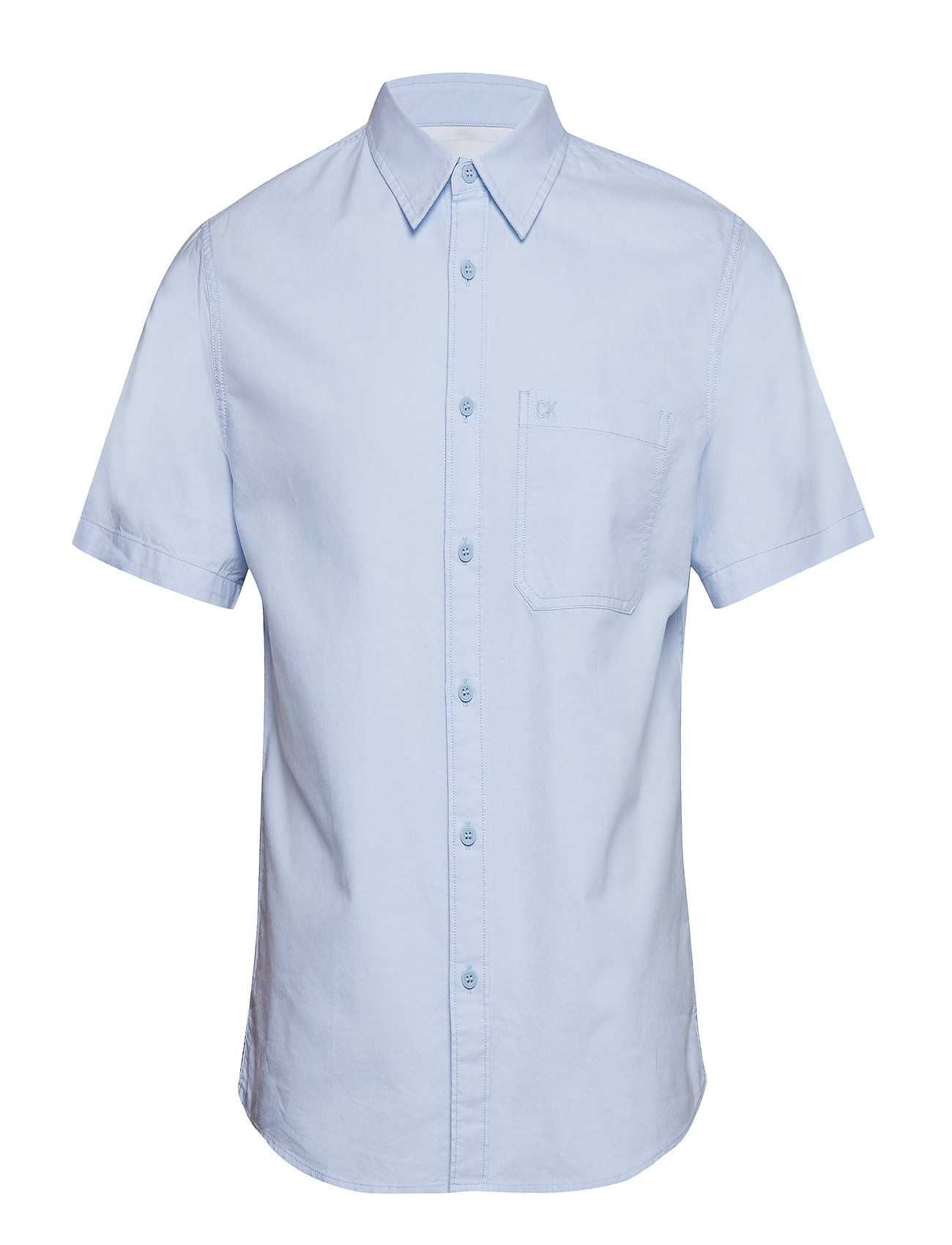 Non Klein Oxford Jeans Reg Stretch Sschambray BlueCalvin Ckj 8nXwOPkN0