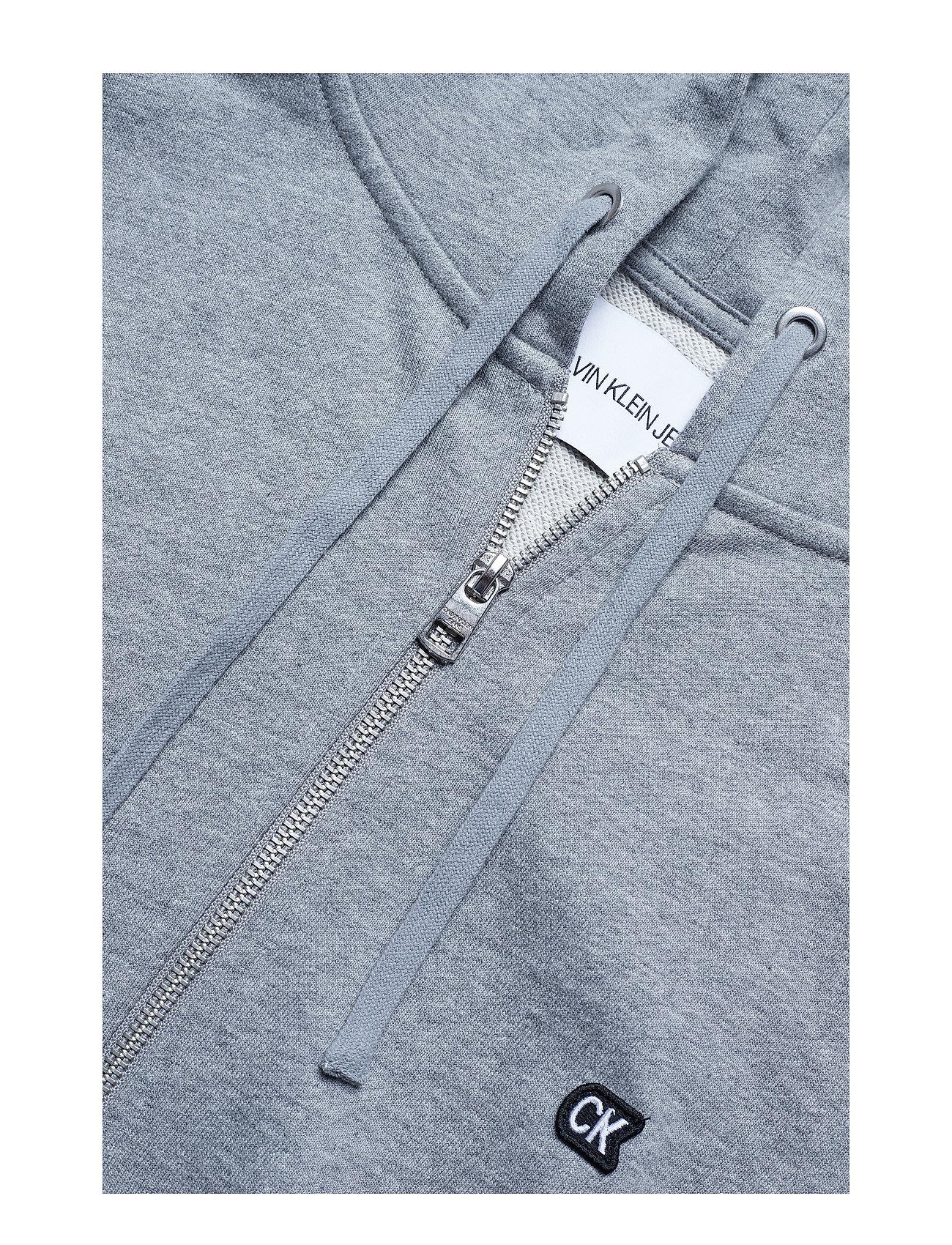 HeatherCalvin Klein Jeans Ckj Embro Zip Up09grey lK35TcuFJ1