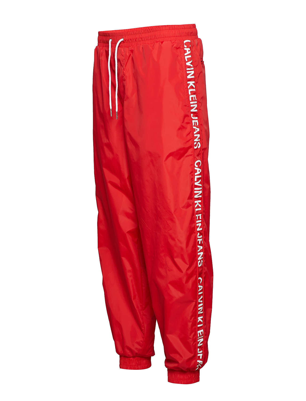 Nylon Pantsracing Jogging Jeans RedCalvin Klein cL5Ajq34SR