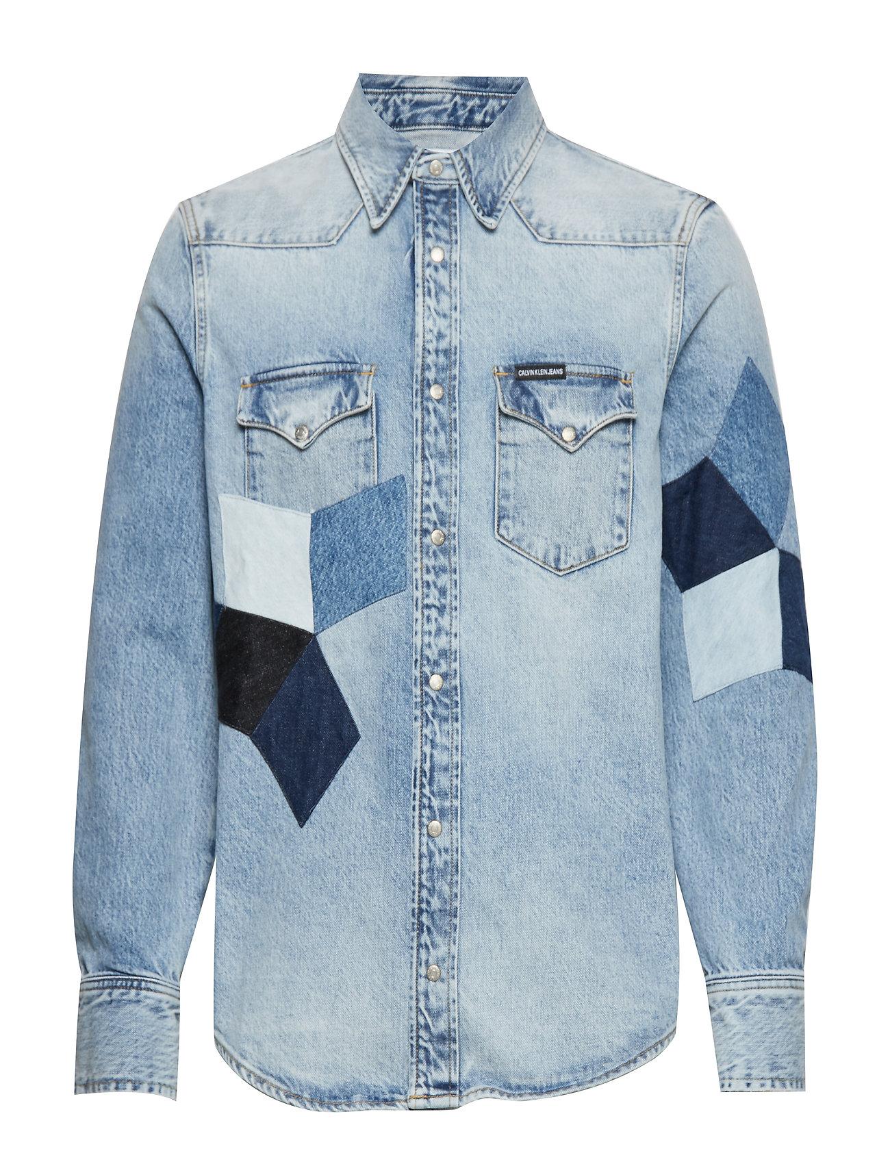 Calvin Klein Jeans FOUNDATION WESTERN S - COLD QUILT