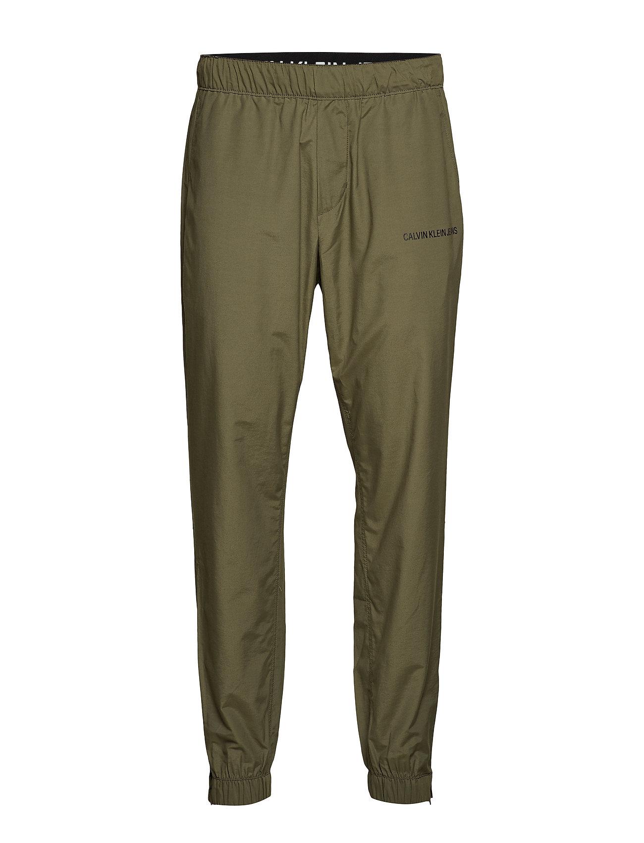 Calvin Klein Jeans COTTON NYLON TRACK P - GRAPE LEAF