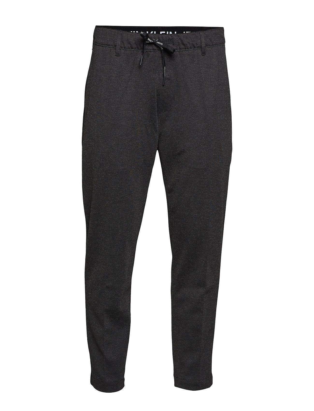 Calvin Klein Jeans GALFOS MELANGE PANTS - CHARCOAL