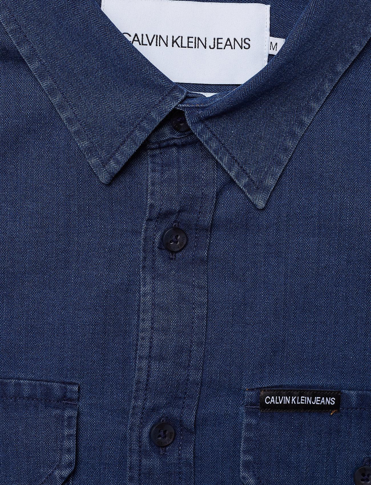 Ls ShirtindigoCalvin ShirtindigoCalvin Ls Jeans Herrigbone Herrigbone Klein 6ybfIv7gYm