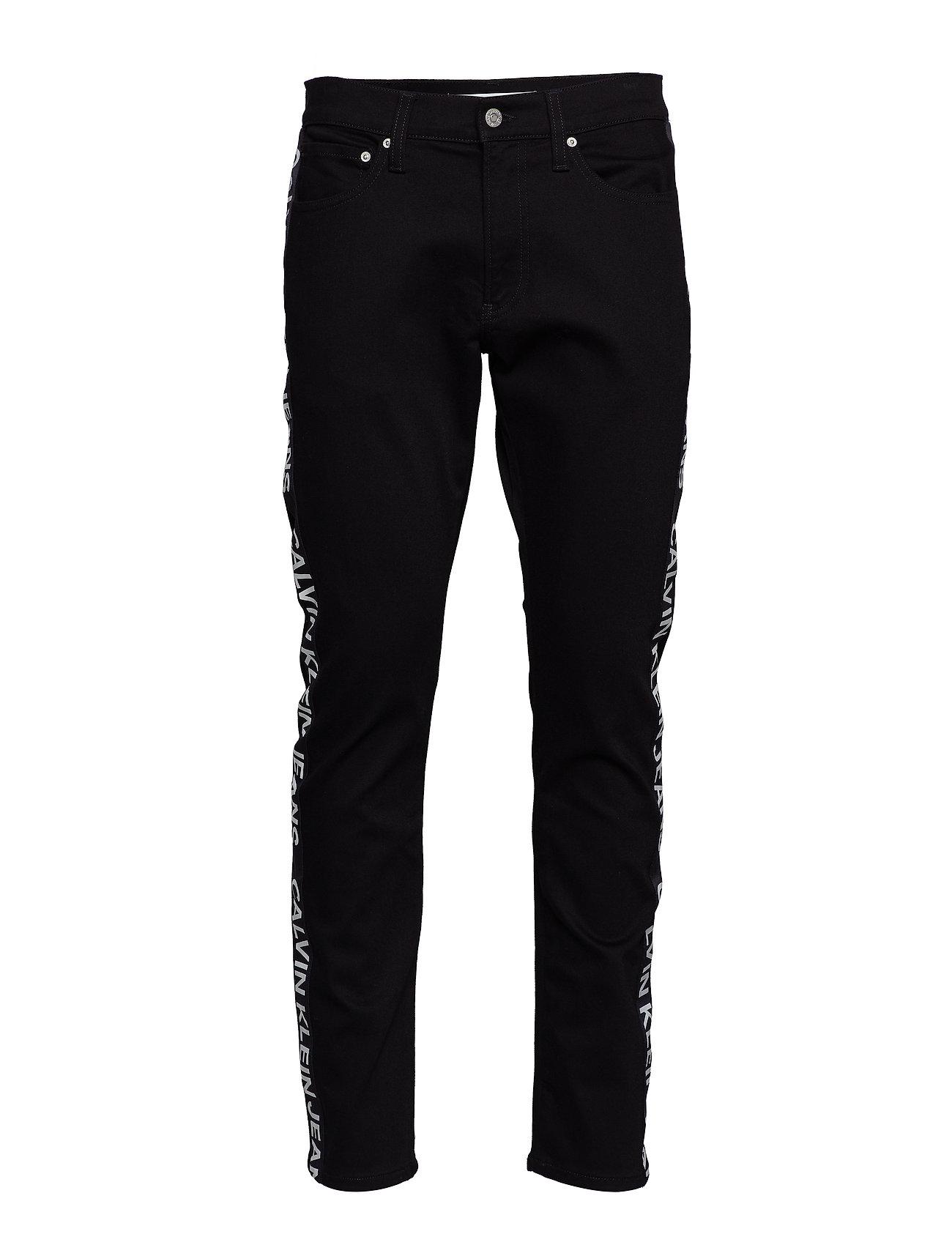 Calvin Klein Jeans CKJ 026 SLIM - BLACK SIDE STRIPE LOGO
