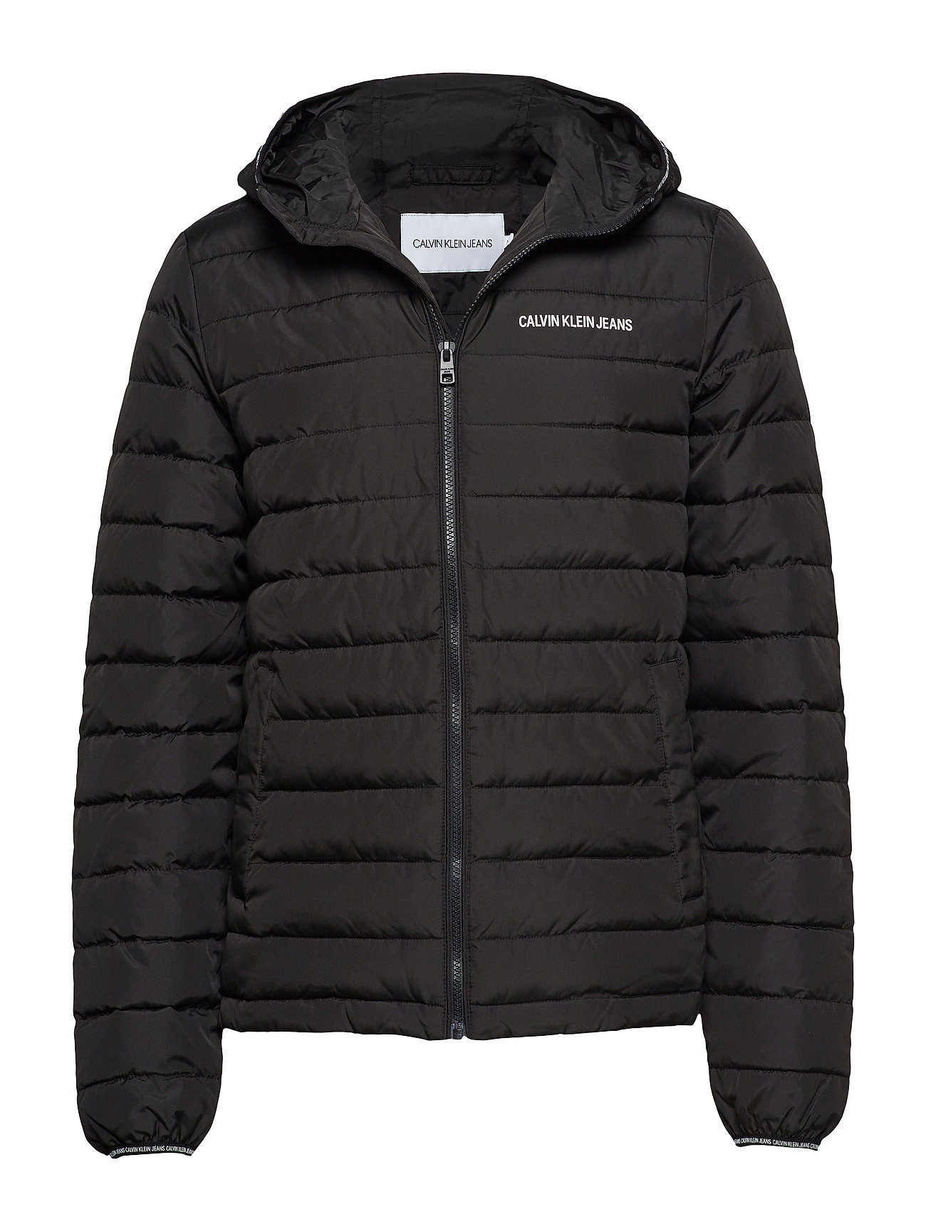 Calvin Klein Jeans PADDED HOODED JACKET - CK BLACK