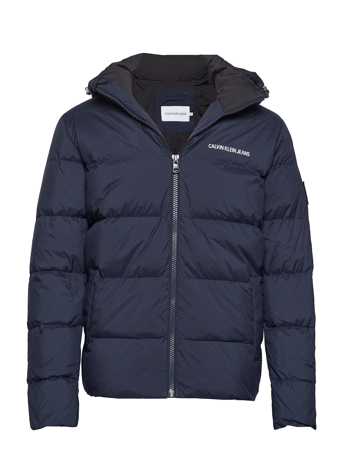 Calvin Klein Jeans HOODED DOWN PUFFER J - NIGHT SKY