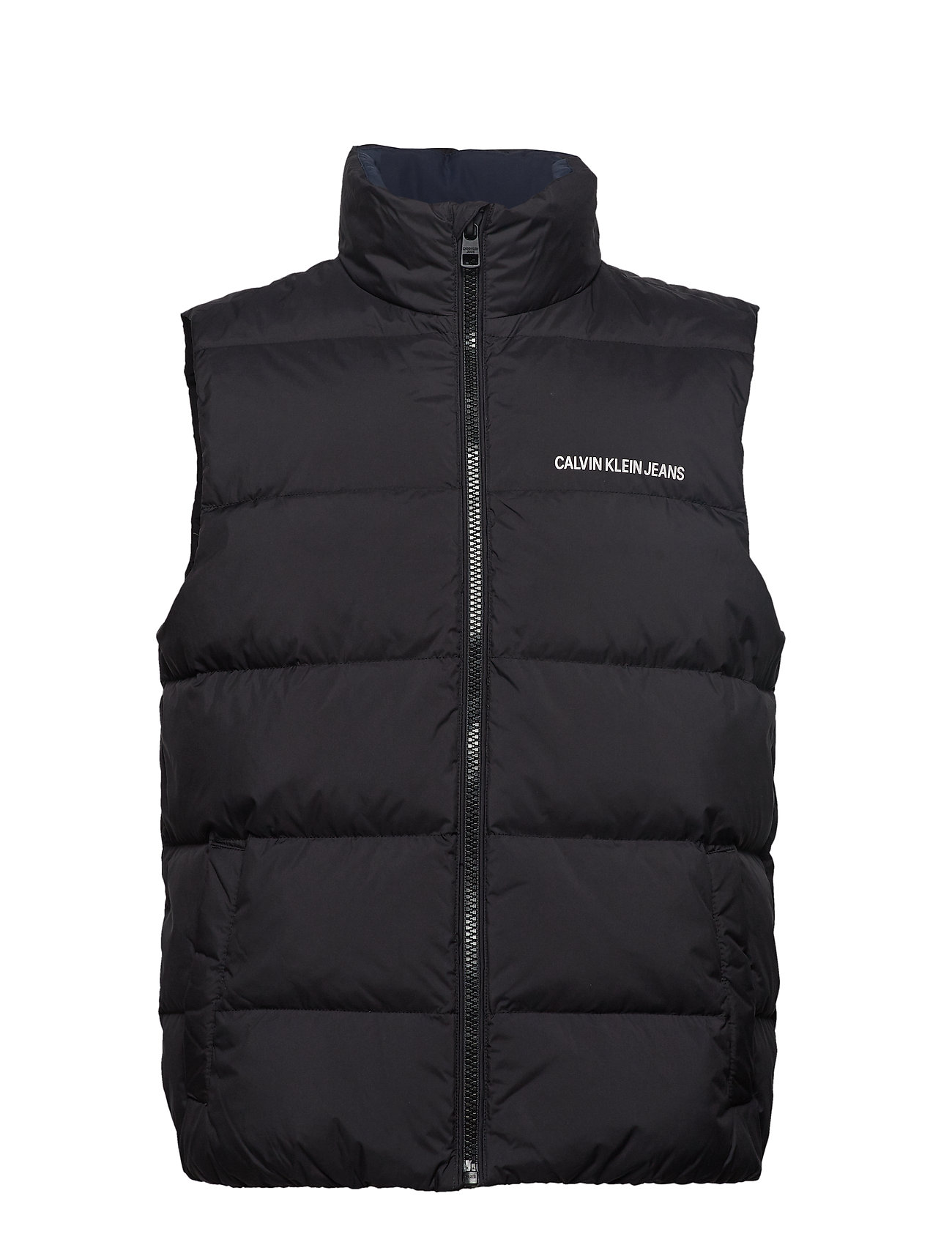 Calvin Klein Jeans DOWN VEST - BLACK BEAUTY