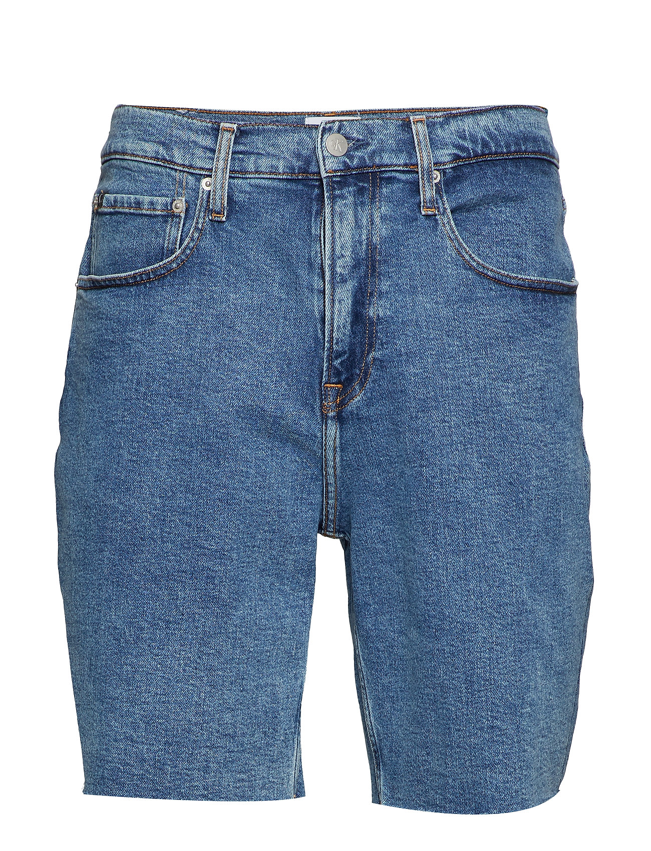 Calvin Klein Jeans STRAIGHT SHORT - ICONIC MID STONE CMF